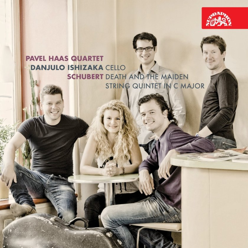 Pavel Haas Quartet String Quintet Schubert Death and the Maiden Supraphon