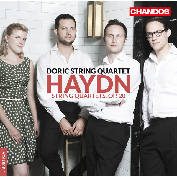 Haydn String Quartets op. 20 - Doric String Quartet - Chandos