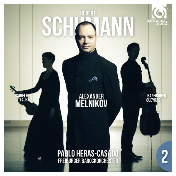 Schumann piano concerto Melnikov Freiburger Barockorchester Pablo Heras-Casado Harmonia Mundi 2015
