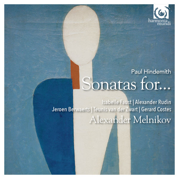 Hindemith Sonatas Melnikov Faust Harmonia Mundi 2015