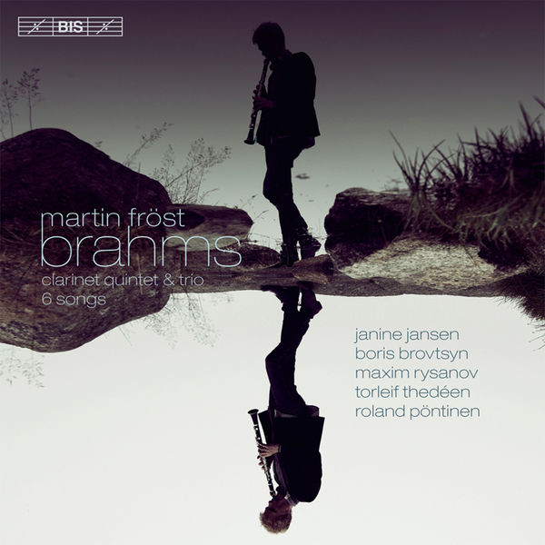 Brahms: Piano Quintet - Martin Fröst - Janine Jansen - Boris Brovtsyn - Maxim Rysanov, Torleif Thedeen, Roland Pötinen