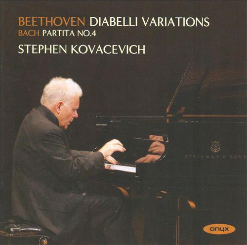Stephen Kovacevich Ludwig van Beethoven Diabelli Variations Onyx 2008