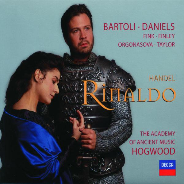 Handel Rinaldo Christopher Hogwood Cecilia Bartoli Decca