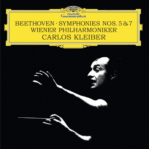 Beethoven Symphonies no. 5 and 7 Carlos Kleiber Wiener Philharmoniker Deutsche Grammophon