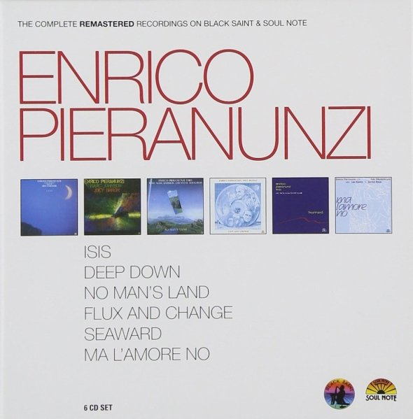 Enrico Pieranunzi The Complete Recordings on Black Saint and Soul Note 6 CD Box