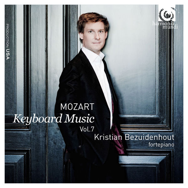 Mozart Keyboard Music vol. 7 Kristian Bezuidenhout Harmonia Mundi
