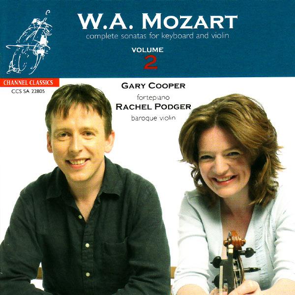 Mozart Complete Violin Sonatas vol. 2 Rachel Podger Gary Cooper Channel Classics