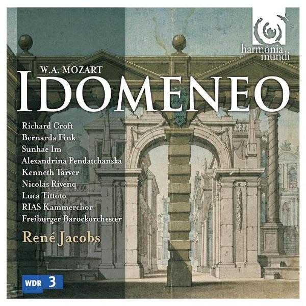 Mozart Idomeneo René Jacobs Freiburger Barockorchester Harmonia Mundi