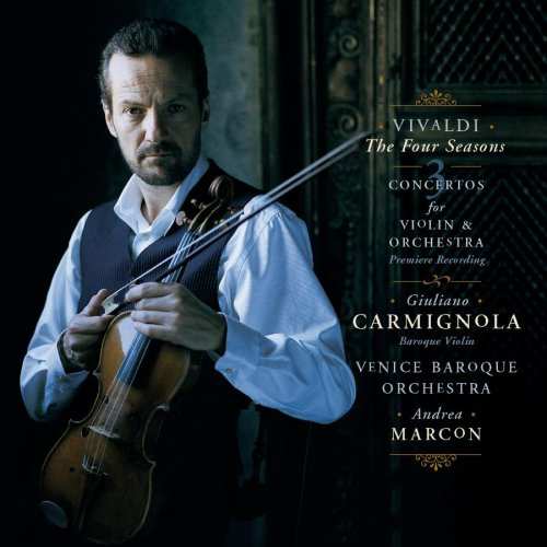 Vivaldi Four Seasons Giuliano Carmignola Andrea Marcon Venice Baroque Orchestra Sony