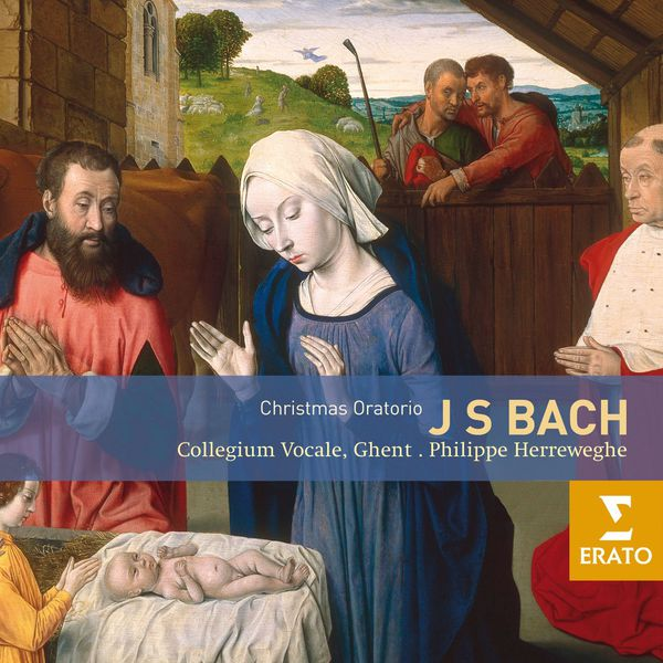 Bach Christmas Oratorio Philippe Herrweghe Collegium Vocale Ghent Erato