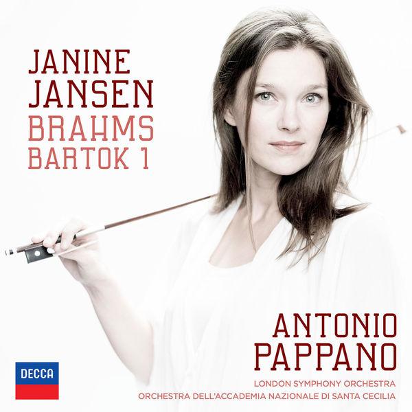 Janine Jansen Brahms Bartok Violin Concertos Antonio Pappano London Symphony Orchestra Orchestra dell'Accademia Nazionale di Santa Cecilia Decca 2015