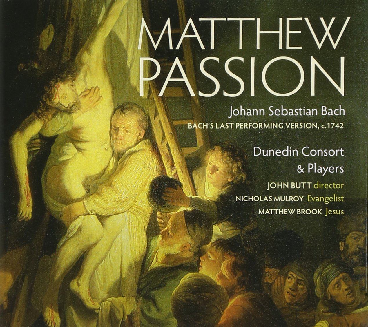 Matthew Passion Dunedin Consort John Butt Linnrecords 24 88