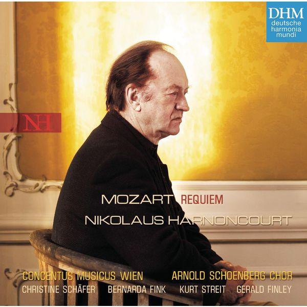 Mozart Requiem Nikolaus Harnoncourt Concentus Musicus Wien Deutsche Harmonia Mundi 24 44
