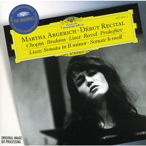 Martha Argerich Debut Recital Deutsche Gramophon 24 96