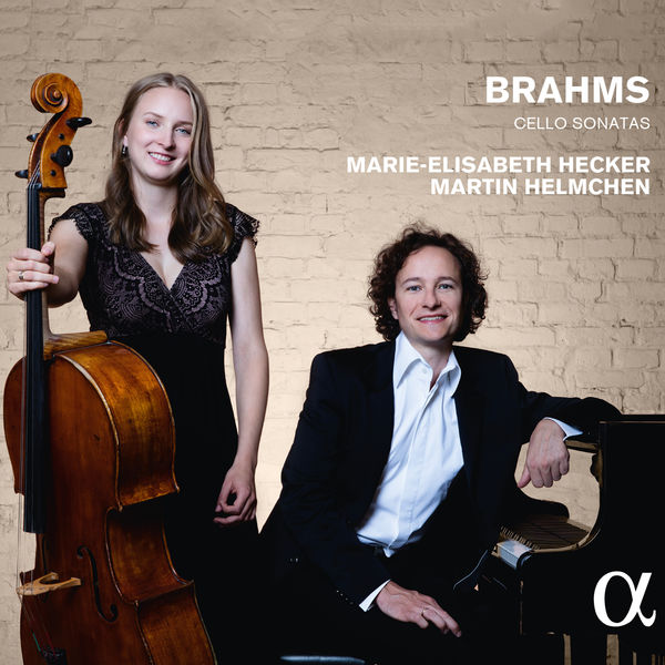 Brahms Cello Sonatas Marie-Elisabeth Hecker Martin Heimchen Alpha Classics 2016 24 96