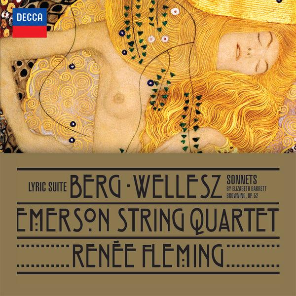 Berg: Lyric Suite - Emerson String Quartet Decca 2015
