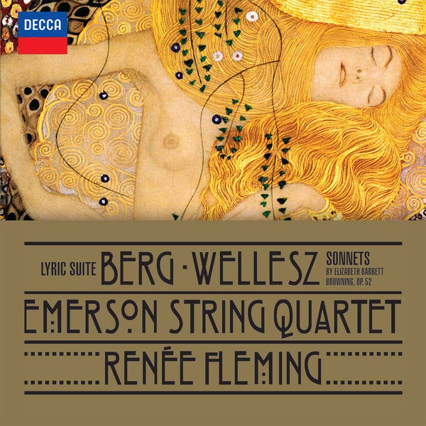 Berg: Lyric Suite - Emerson String Quartet Decca 2015