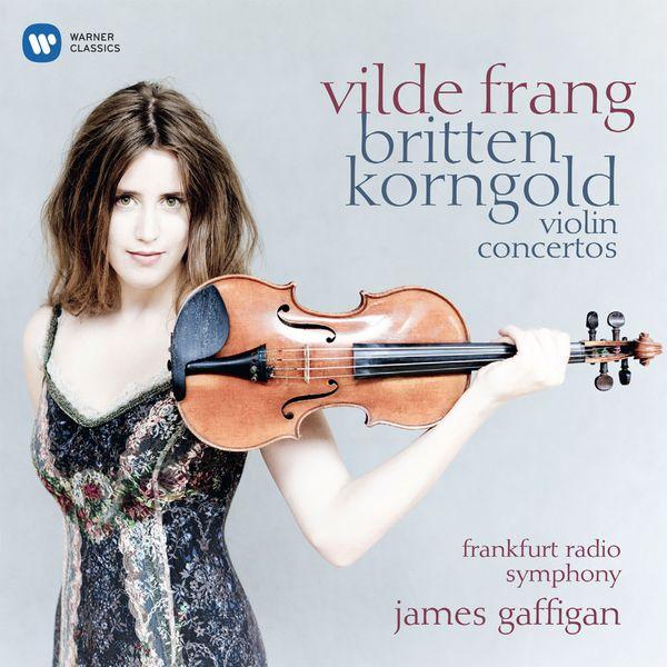 Britten/Korngold Violin Concertos James Gaffigan Frankfurt Radio Symphony James Gaffigan