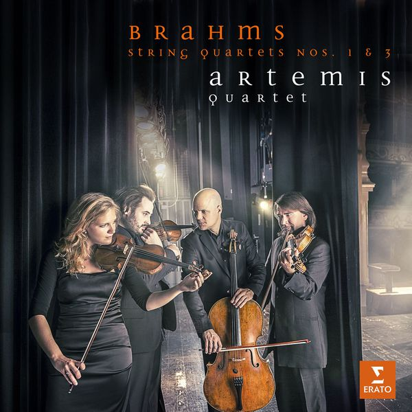 Brahms: String Quartets No. 1 & 3 - Artemis Quartet Erato 2016