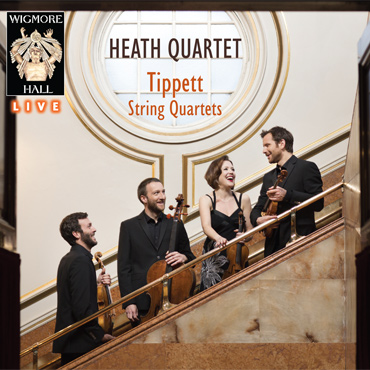 Tippett String Quartets Heath Quartet Wigmore Hall Live