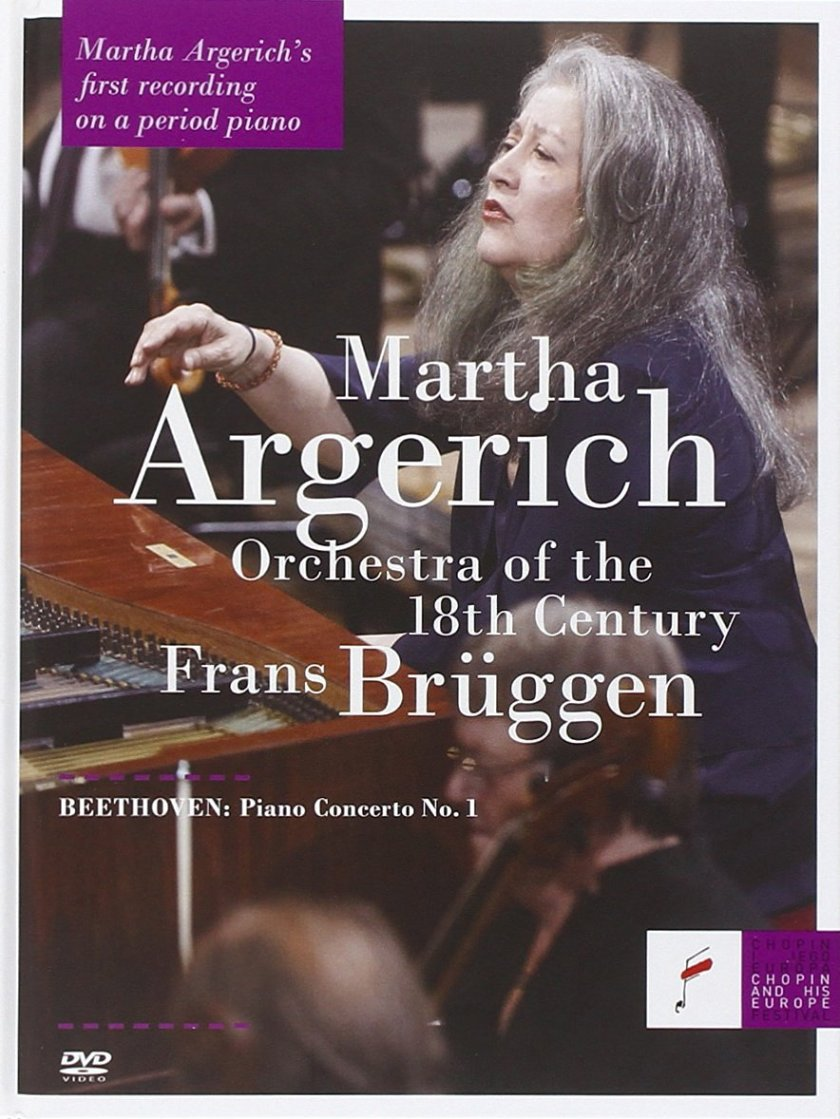 Beethoven Piano Concerto No. 1 Frans Brüggen Orchestra of the 18th Century Martha Argerich DVD