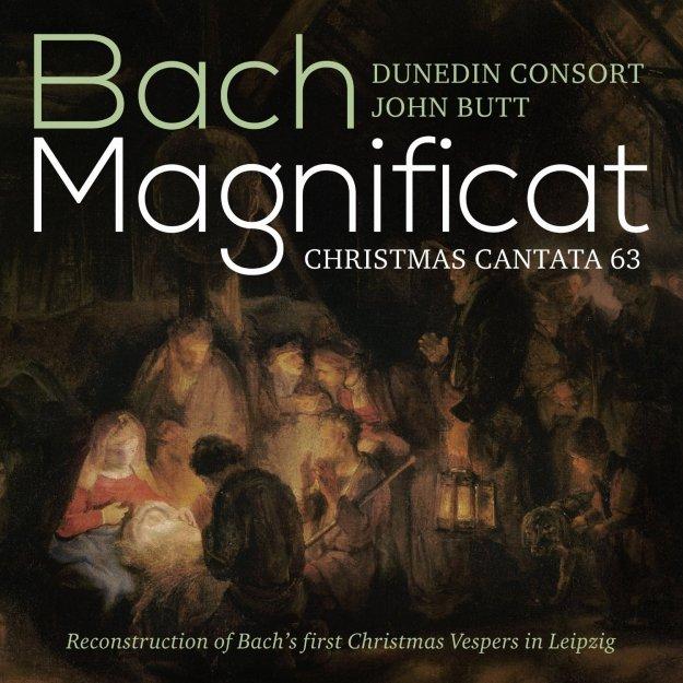 Bach: Magnificat Christmas Cantata 63 John Butt Dunedin Consort Linn Records