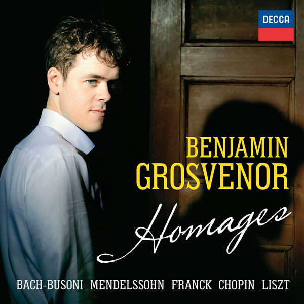 Benjamin Grosvenor Homages (24/96) Decca 2016