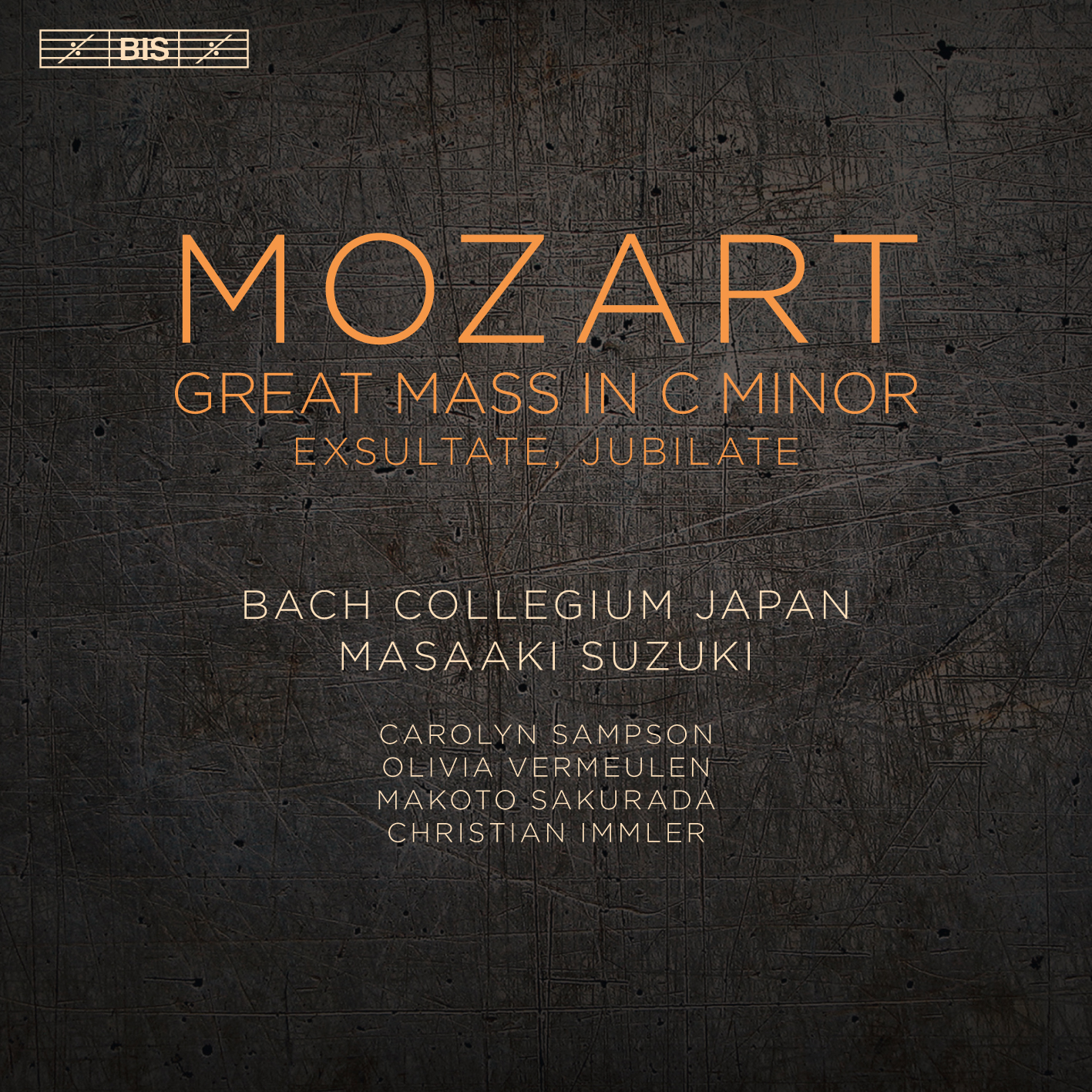 Mozart: Great Mass in C-Minor Exsultate Jubilate Masaaki Suzuki Bach Collegium Japan BIS 2016 24/96