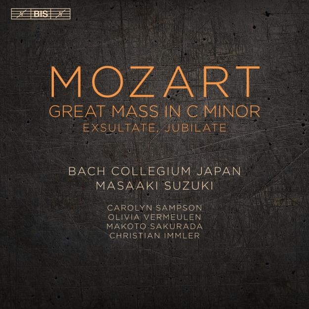 Mozart: Great Mass in C-Minor Exsultate Jubilate Masaaki Suzuki Bach Collegium Japan BIS 2016 24/96