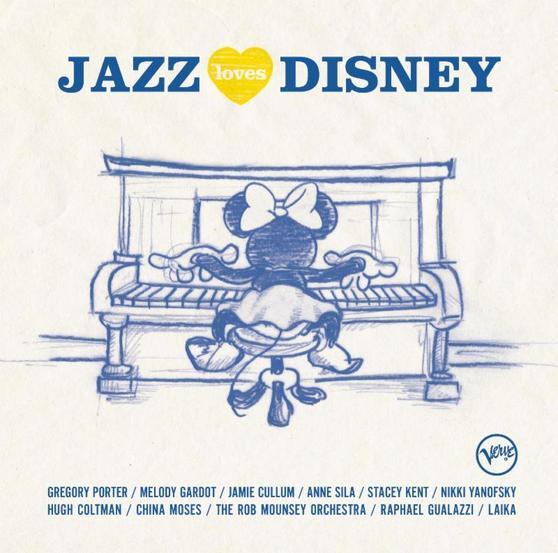 Jazz Loves Disney 24/44 Verve 2016 Gregory Porter Jamie Cullum Stacey Kent Melody Gardot