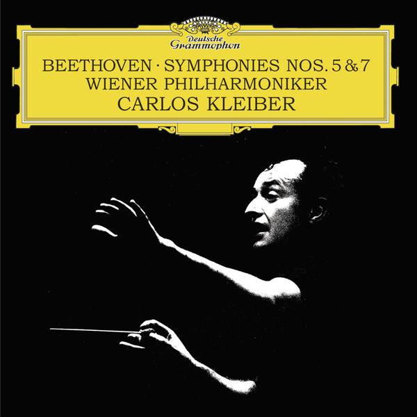 Carlos Kleiber Beethoven Symphonies 5 & 7 Wiener Philharmoniker Deutsche Grammophon 24 96