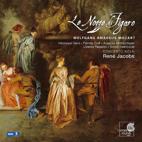 Mozart: Le Nozze Di Figaro René Jacobs Concerto Köln Harmonia Mundi