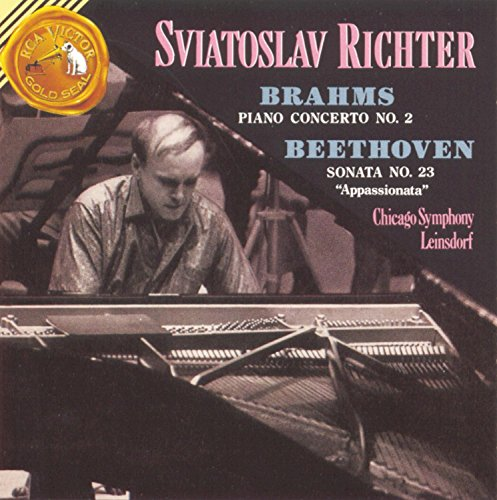 Brahms Piano concerto no. 2 Beethoven Sonata No. 23 Sviatoslav Richter, Erich Leinsdorf - Chicago Symphony RCA