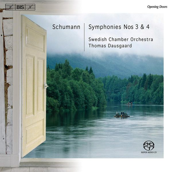 Schubert: Symphony No. 3 and 4 - Thomas Dausgaard - Swedish Chamber Orchestra - BIS