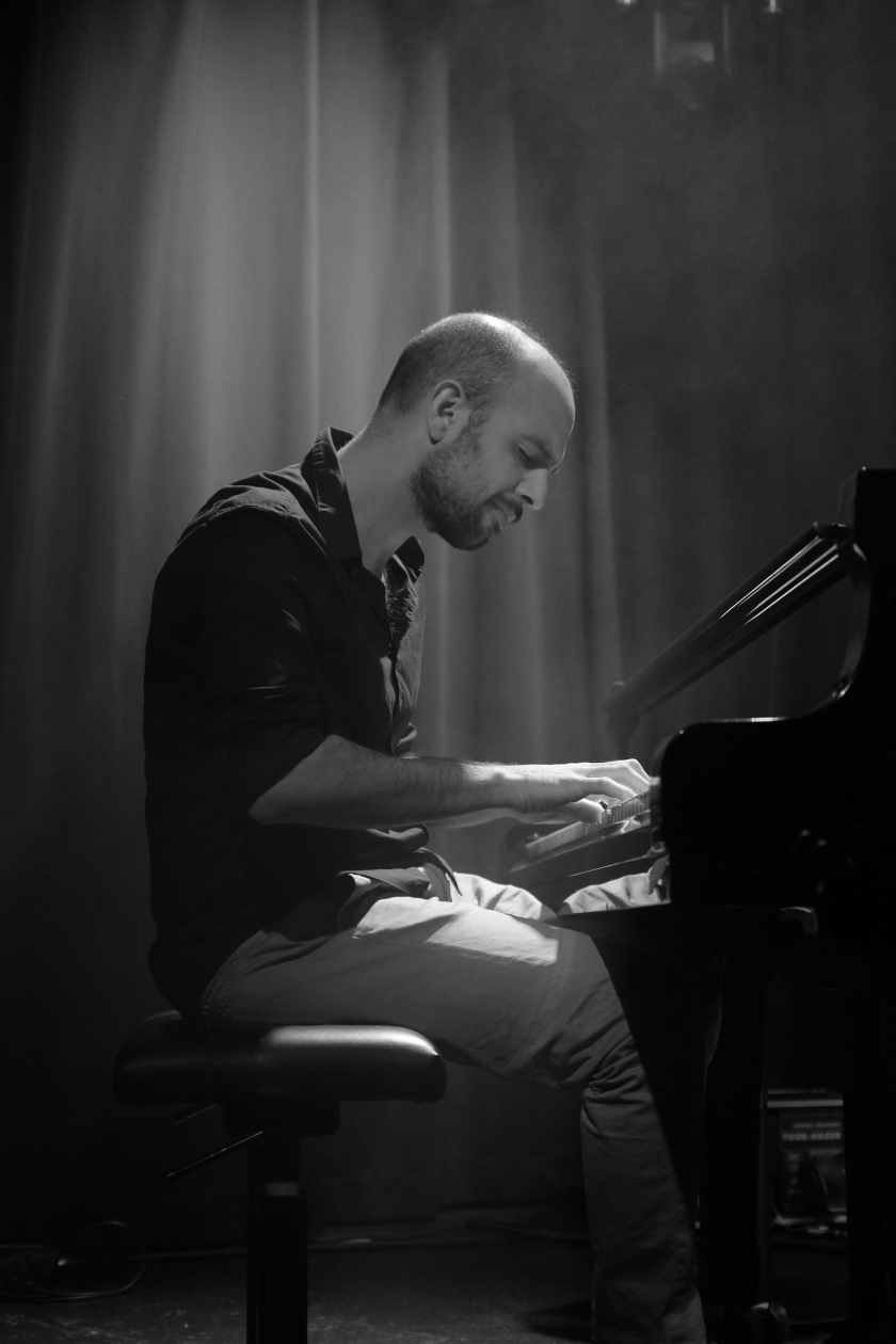 Shai Maestro on piano live at Moods March 17, 2017 (c) Musicophile