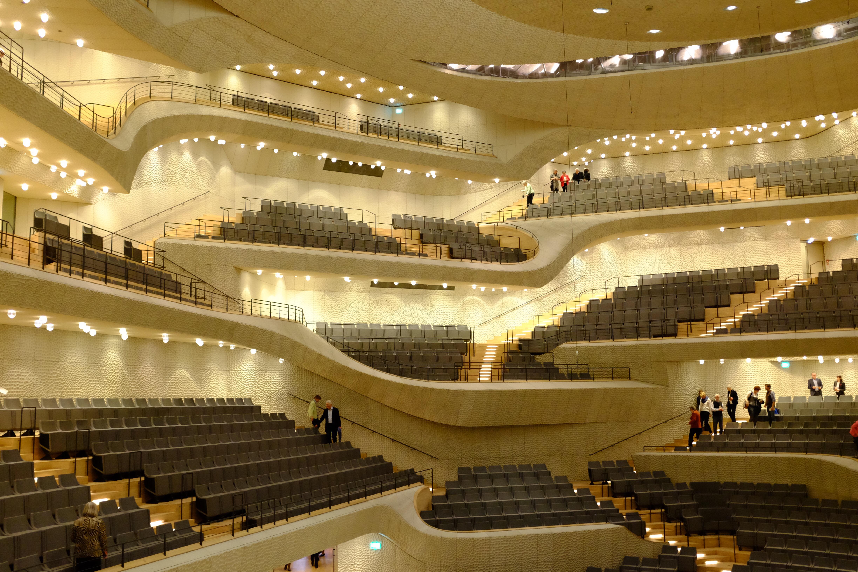 Elbphilharmonie interior Grosser Saal (c) 2017 Musicophile