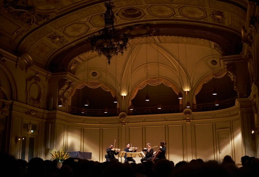 Quatuor Ebène at Tonhalle Kleiner Saal Jun 11, 2017
