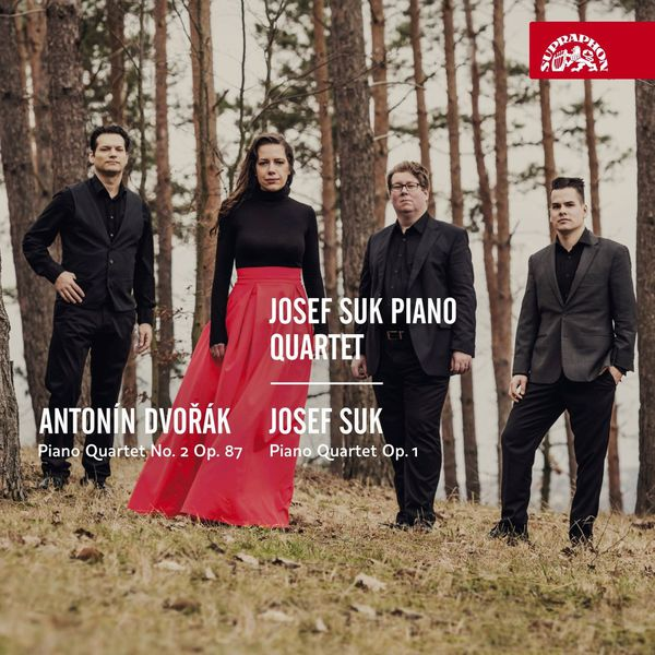 Josef Suk Piano Quartet: Antonin Dvorak Piano Quartet No. 2 op. 87 & Josef Suk: PIano Quartet op. 1 Supraphon 2017