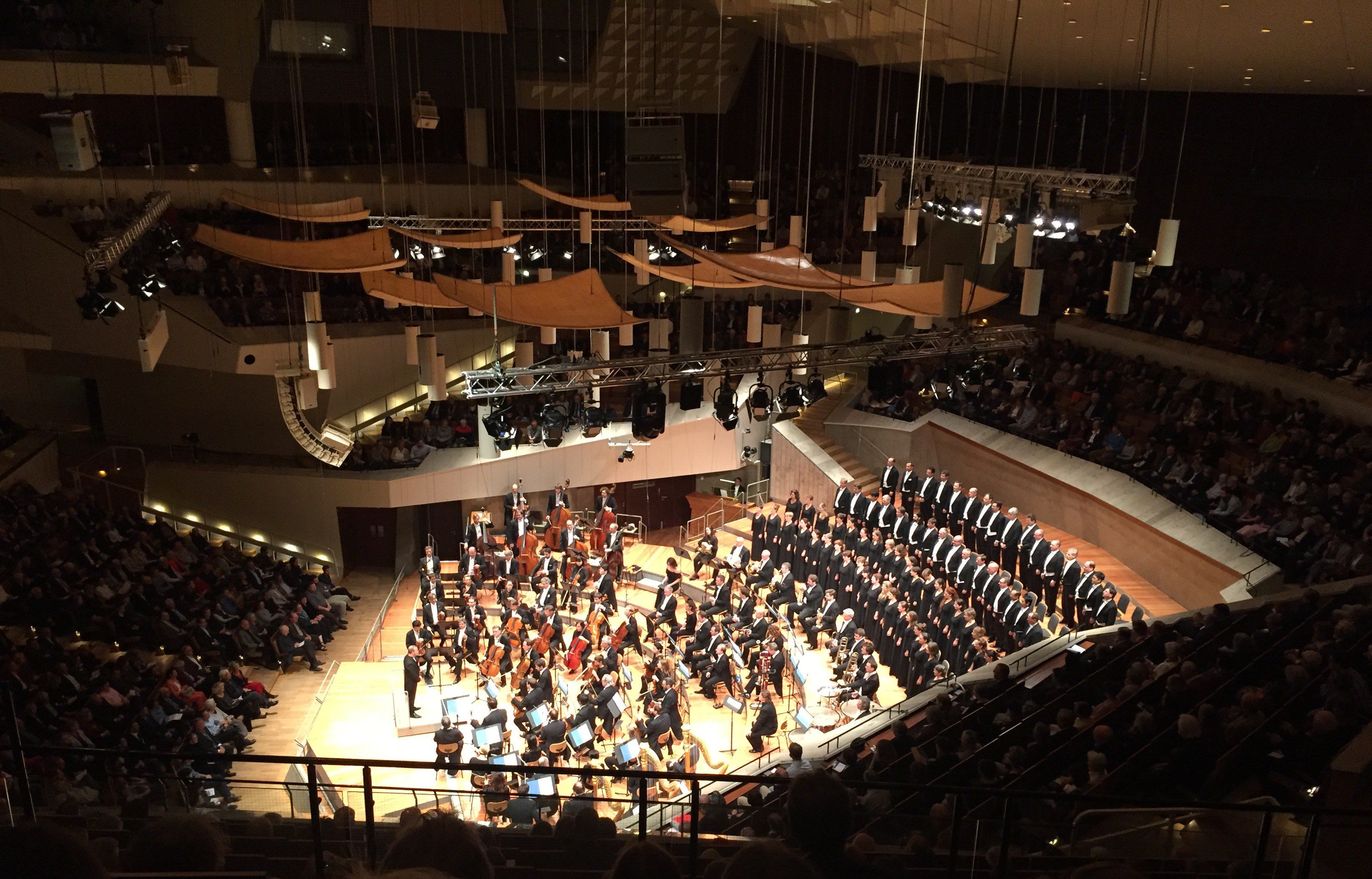 Yannick Nézet-Séguinm, The Berlin Philharmonic Orchestra, and the Rundfunkchor Berlin, Brahms German Requiem Oct 19, 2017