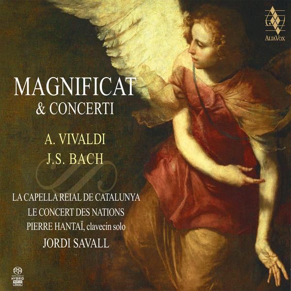 Bach Vivaldi Magnificat Concerti Jordi Savall PIerre Hantai Le Concert des Nations La Capella Reial de Catalunya AliaVox 2014 24 / 88