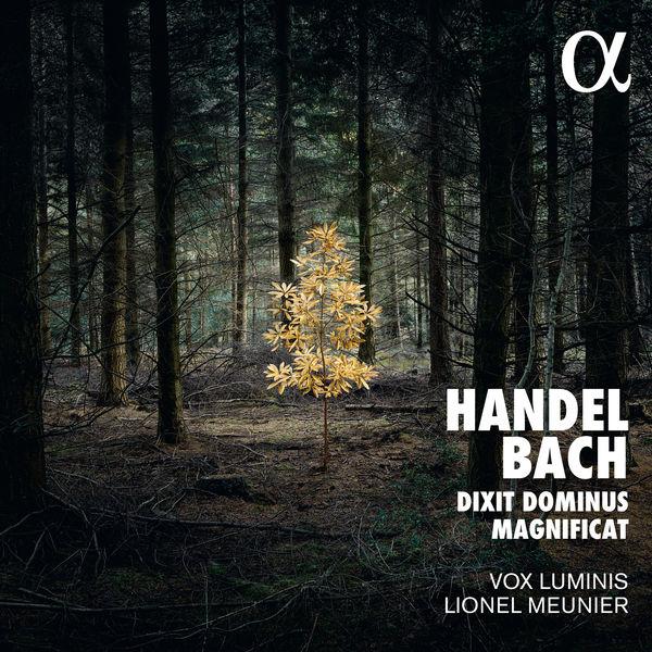 Bach: Magnificat Handel: Dixit Dominus Vox Luminis Lionel Meunier Alpha 2017 24 96