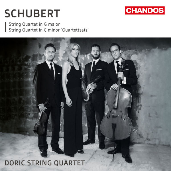 Schubert String Quartet No. 12 and 15 - Doric String Quartet (24/96) Chandos 2017