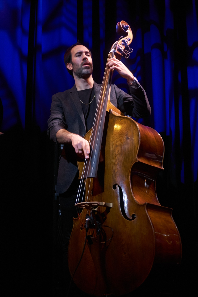 Haggai Cohen Milo with the Omer Klein Trio Live At Moods Jan 18, 2018 (c) Musicophile