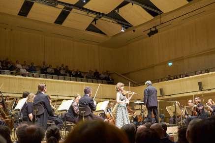 LIsa Batiashvili; Antonio Pappano; Chamber Orchestra of Europe;Tonhalle Maag Zurich, May 23, 2018