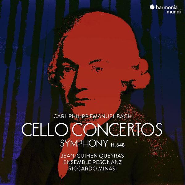 Carl Philipp Emanuel Bach Cello Concertos Jean-Guihen Queyras Ensemble Resonanz Riccardo Minasi Harmonia Mundi 2018 24 48