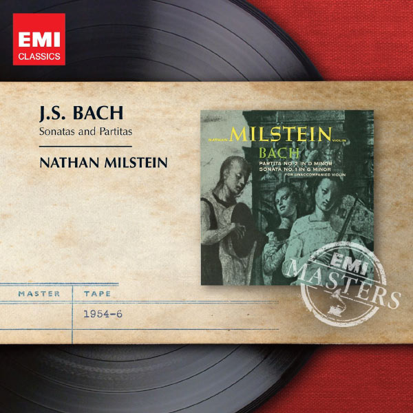 Nathan Milstein Bach Sonatas and Partitas for Solo Violin EMI 1954-1965