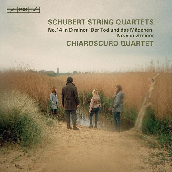 Schubert String Quartet No. 14 Death and the Maiden No. 9 Chiaroscuro Quartet  24/96 BIS