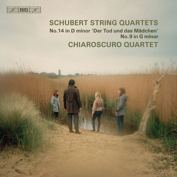 Schubert String Quartet No. 14 Death and the Maiden No. 9 Chiaroscuro Quartet  24/96 BIS