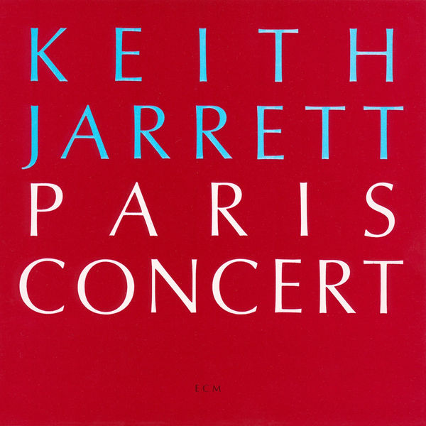 Keith Jarrett: Paris Concert ECM 1990