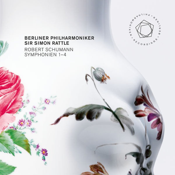 Berliner Philharmoniker Sir Simon Rattle Robert Schumann Symphonies 1-4 BPO Recordings 2014 24/96